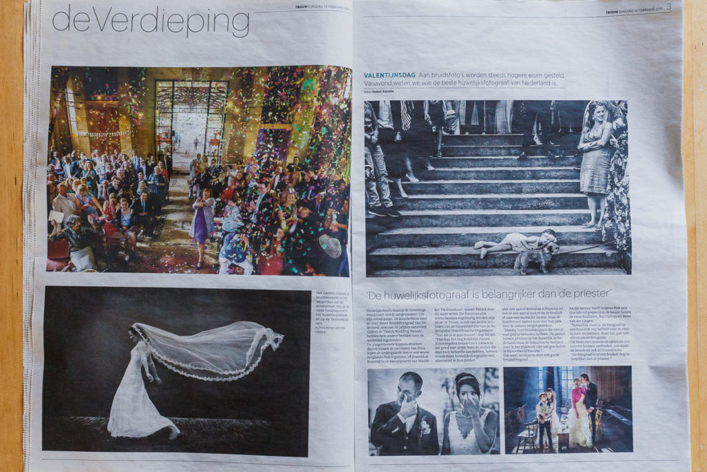 Artikel over dutch wedding awards | beste trouwfotograaf Nederland