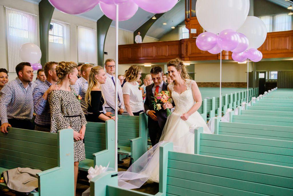 Bruiloft Vollenhove kerk