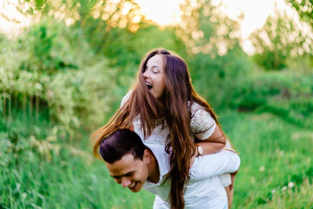 Romantische fotoreportage Netl