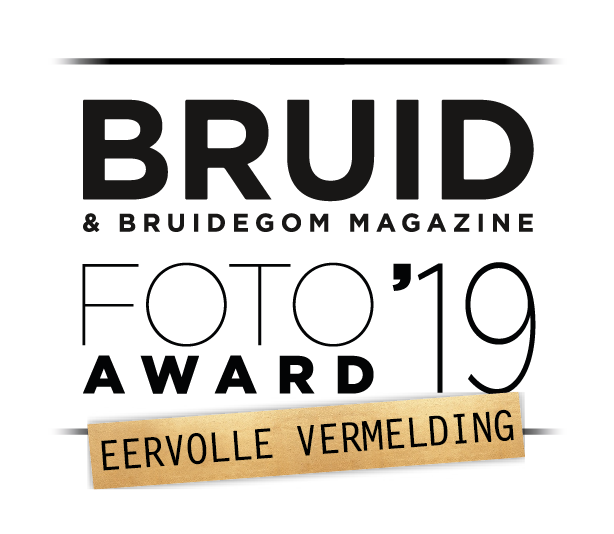Eervolle vermelding bruidsfoto award Peter van der Lingen bruidsfotografie