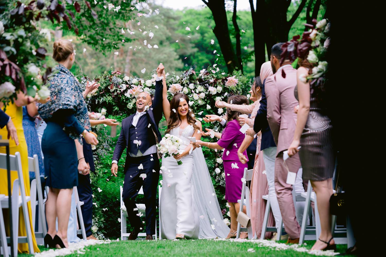 Buiten trouwen Roode Koper