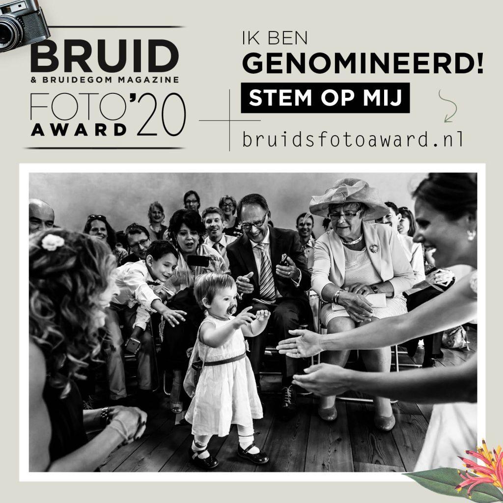 Bruidsfotoaward 2020 Bruidskinderen Nominatie, Bruid, Bruid en Bruidegom,